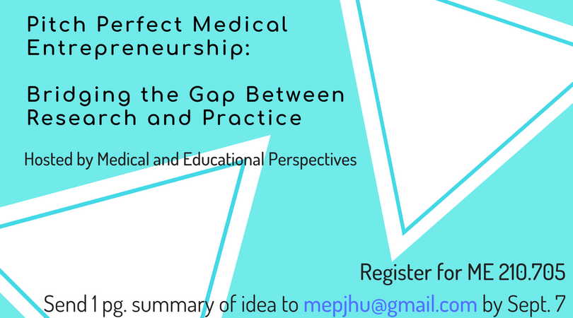 Pitch Perfect Medical Entrepreneurship Course, Registration Now