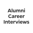 Alumni Career Interviews